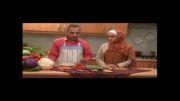 آموزش آشپزی گیاهی (وگان) - چلو خورش لوبیا سبز