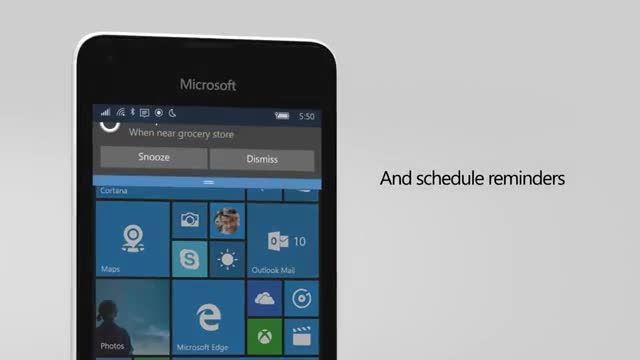 ویدئوی تبلیغاتی مایکروسافت برای لومیا ۵۵۰ -امروز آنلاین