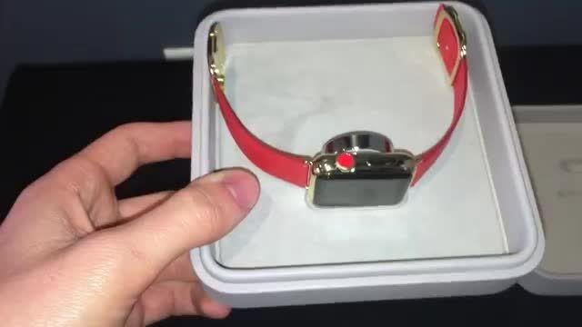 آنباکسینگ اپل واچ طلایی Gold Apple Watch Edition