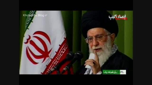 امام خامنه ای   فلسطین، موضوع اصلی جهان اسلام