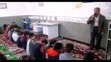 مراسم عزاداری امام رضا وامام حسن ورحلت پیامبر دبستان آیت الله کاشانی کاشان