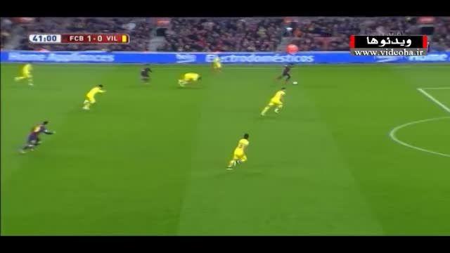 خلاصه بازی بارسلونا ۳-۱ ویارئال