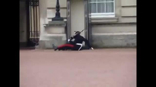 اتفاقات خنده دار گارد سلطنتی انگلیس در کاخ باکینگهام