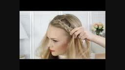 بافت مو با طرح تل