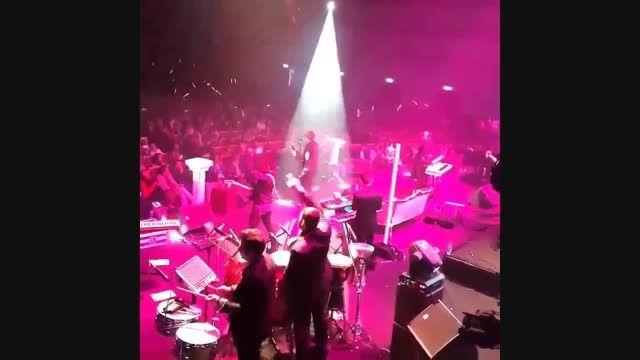 کلیپ کوتاهی از کنسرت مرتضی پاشایی در تهران