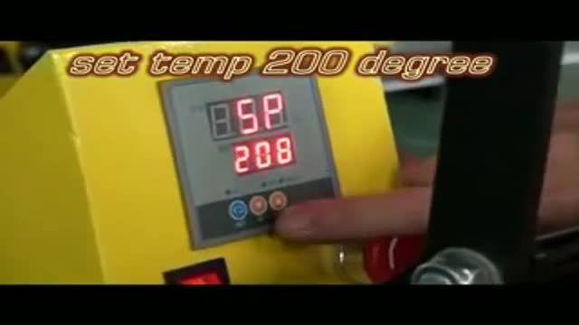 دستگاه عکس سابلیمیشن پرسی حرارتی تخت و پارچه ، تیشرت