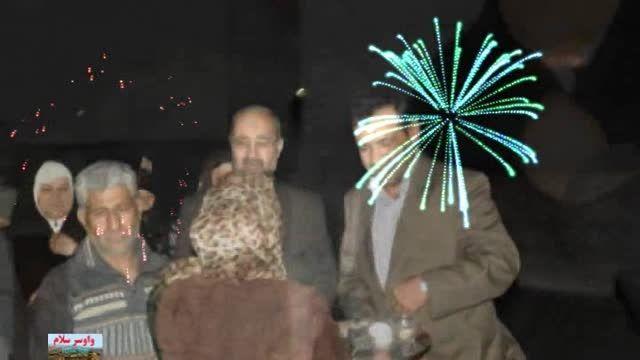 بازگشت حاج حسینعلی محمدی و همسر مکرمه از سفر معنوی حج