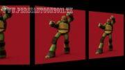 دانلود موزیک ویدیوی جدید لاکپشت های نینجا با کیفیت HD پرشین