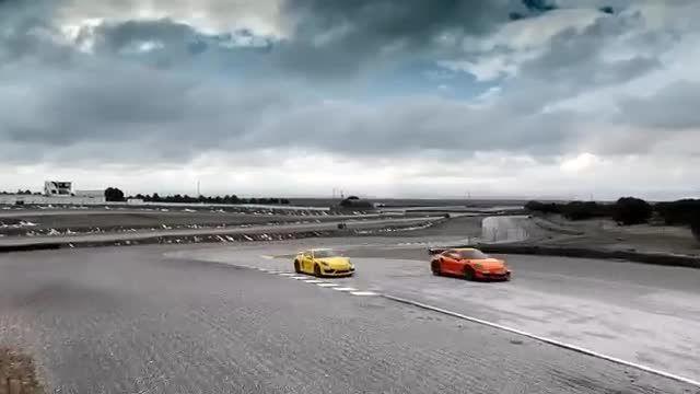 رسمی - پورشه  911 GT3 RS و Cayman GT4