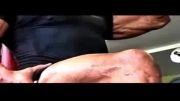 کلیپ تمرینات بدنسازی راک برای فیلم هرکولس