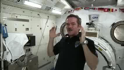 ویدئوی جالبی از شیوه خوابیدن فضانوردان در ایستگاه فضایی
