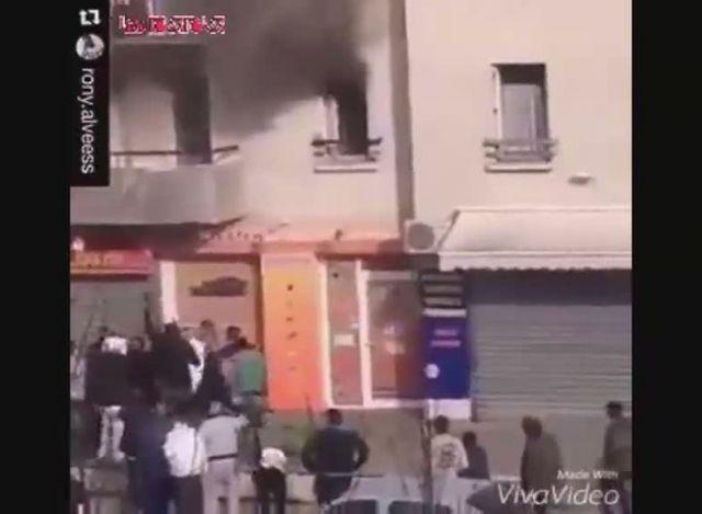 نجات مادر و بچه از شعله های آتش فیلم گلچین صفاسا