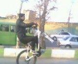 تک چرخ زدن بدون چرخ جلو