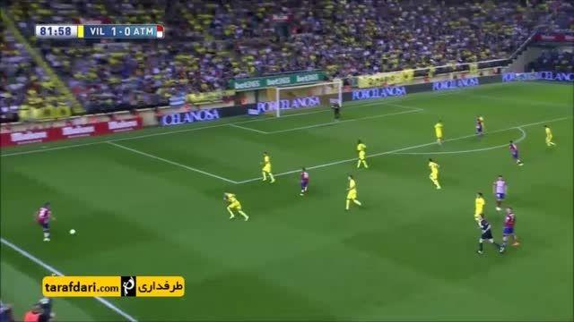 خلاصه بازی ویارئال 1-0 اتلتیکو مادرید