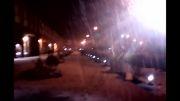 بارش برف در اصفهاند پس از چند سال