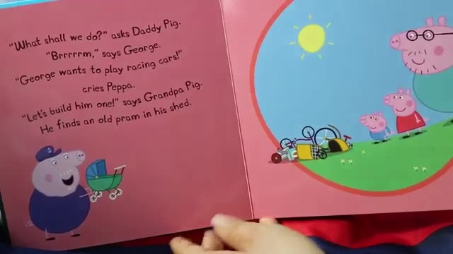 کتاب Peppa Pig George's First Day at Playgroup