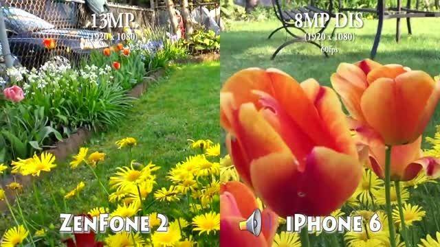 مقایسه کیفیت فیلمبرداری آیفون 6 و ایسوس زنفون 2