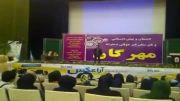 اجرای زنده ی علی رهام در اراک (آهنگ در به درم کردی)