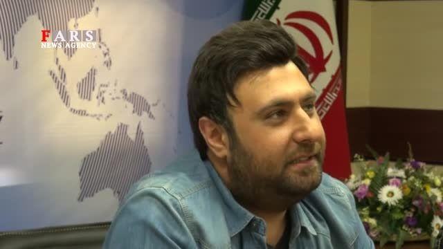 محمد علیزاده- مصاحبه با خبرگزاری فارس قسمت دوم-حجم کم