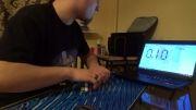 حل 3 روبیک با چشم بسته در 1:38.78 توسط Marcin Kowalczyk !!!