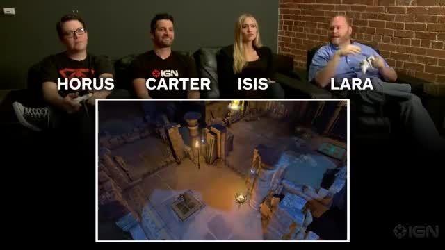 گیم پلی بازی Lara Croft and the temple of osiris