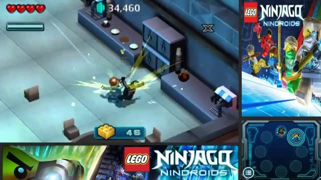 گیم پلی بازی لگو نینجاگو ربات های نینجا-پارت6