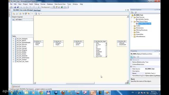 آموزش ساخت مکعب اطلاعاتی Cube در  MS Analysis Service