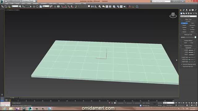 مدل  سازی غرفه  نمایشگاهی 3ds max