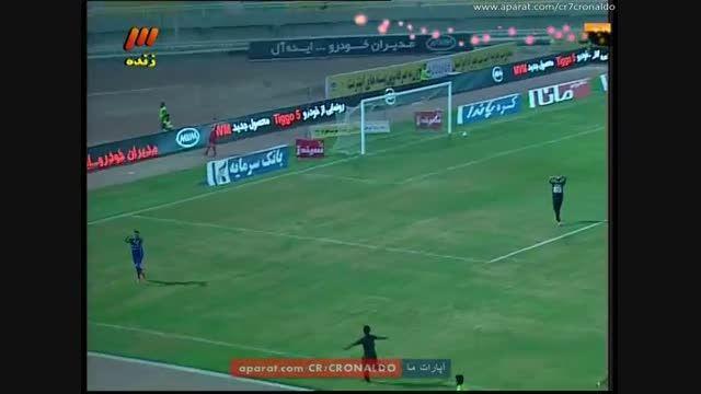 استقلال خوزستان 1 - 0 پرسپولیس (گل اول بیت سعید)