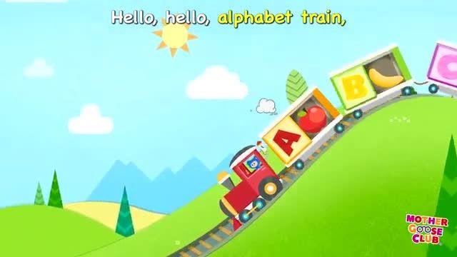 Alphabet Train Food Train Mother Goose club