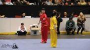 دهمین دوره مسابقات جهانی ووشو - دوئی لین بانوان - مدال طلا