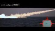 شلیک موشک سطح به سطح توسط یک ناوچه