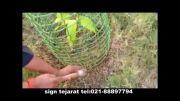 حفاظت از تنه درختان و نحال توسط شبکه های پلیمری(مش پلیم