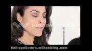 آموزش آرایش ابرو ( شماره 1)