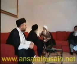 دیدار آیت الله تبریزی و آیت الله سیستانی در لندن