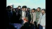 سفر رهبر به کرمانشاه در سال 68