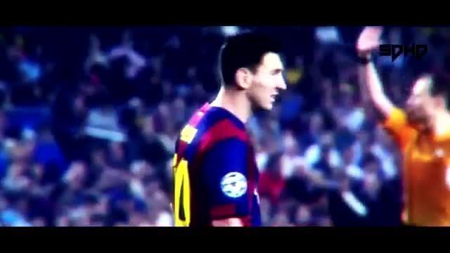 گل ها و حرکات برتر لیونل مسی 2015