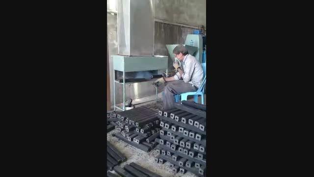 دستگاه تولید ذغال فشرده 09147557802