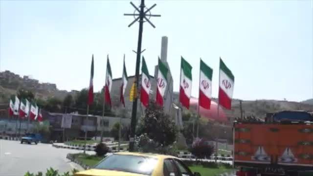 گزارش اکران مردمی آثار جشنواره عمار در شهرستان سردشت