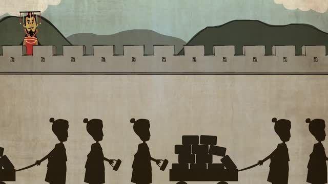 داستان دیوار بزرگ چین