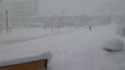 بارش برف در نوشهر2