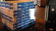 دستگاه بسته بندی استرچ پالت ٬ پالت استرچر/02146884599