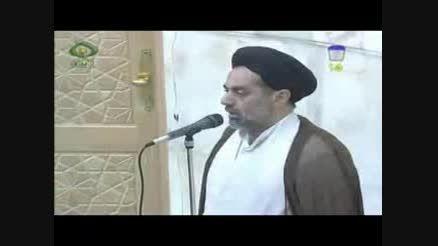 اگر در نماز جماعت صدای امام جماعت را نشنویم چه کنیم؟