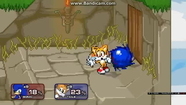 4 Sonic VS Tails