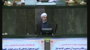سخنرانی رئیس جمهور در دفاع از وزیر پیشنهادی علوم