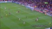 گل ها و خلاصه بازی بارسلونا آژاکس