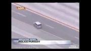 فرار دیدنی یک متهم از دست پلیس!
