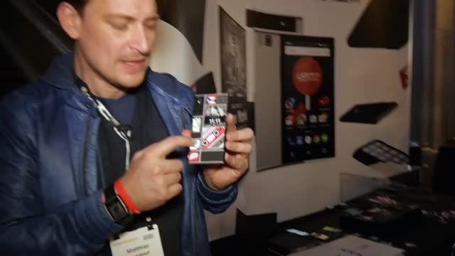 پروژه Ara در کنگره جهانی موبایل 2015