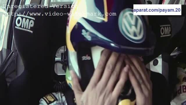 نیمار کمک راننده سباستین اوژیه در تبلیغ رد بول