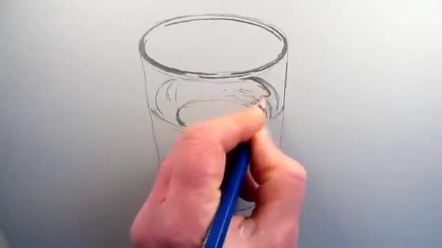 آموزش نقاشی سه بعدی+توضیحات...فیلم سوم